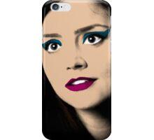 Clara Oswald Pop Art iPhone Case/Skin
