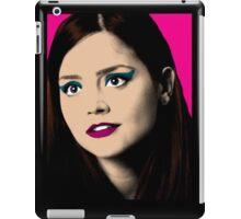 Clara Oswald Pop Art iPad Case/Skin