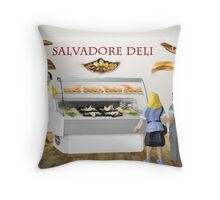 Gala and Ramon decide to have a surreal lunch at the deli. Throw Pillow