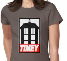 TIMEY Womens Fitted T-Shirt