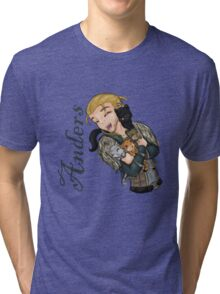 Anders with kittens Tri-blend T-Shirt