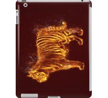 Flaming Tiger iPad Case/Skin