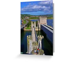 Three Roads Out Greeting Card