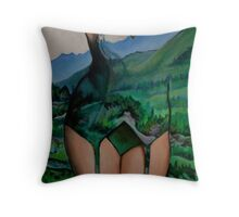 She is the Earth Throw Pillow