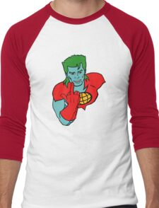 Captain Planet 'Save the Earth' Men's Baseball ¾ T-Shirt