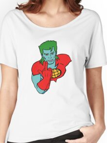 Captain Planet 'Save the Earth' Women's Relaxed Fit T-Shirt