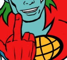 Captain Planet 'Save the Earth' Sticker