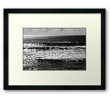 Early Morning Surf Framed Print