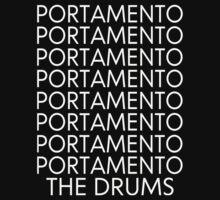 The Drums//Portamento ((Black)) by Tropicana