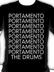 The Drums//Portamento ((Black)) T-Shirt