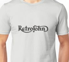 RetroJohn's classic retro logo Unisex T-Shirt