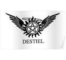 Destiel Symbol Design   Poster