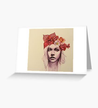 Joelle Greeting Card