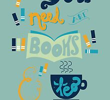 Books & Tea by Isabel Silva