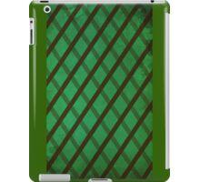 Green Stripes iPad Case/Skin