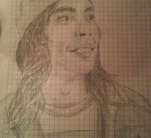 Vic Drawing by twenty7cats