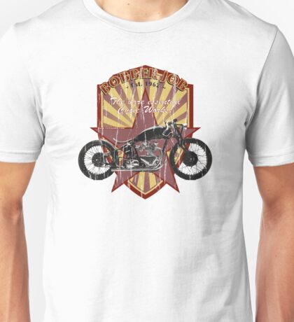 Bobber Job, motorcycle works Unisex T-Shirt
