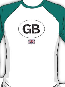 GB, Great Britain auto T-Shirt
