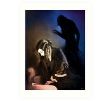 She Is Haunting Me Art Print