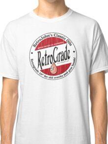 Retro Grade, classic motor oil Classic T-Shirt