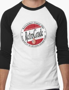 Retro Grade, classic motor oil Men's Baseball ¾ T-Shirt