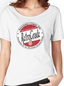 Retro Grade, classic motor oil Women's Relaxed Fit T-Shirt