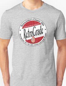 Retro Grade, classic motor oil Unisex T-Shirt