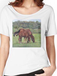 Grazing Women's Relaxed Fit T-Shirt