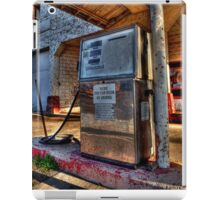 Abandoned Gas Pump  iPad Case/Skin