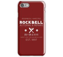 Rockbell Automail iPhone Case/Skin