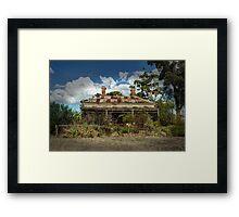 Historic property Framed Print