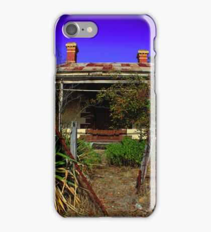 Distressed house iPhone Case/Skin
