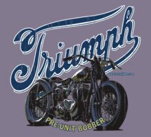 Old School Vintage Bobber T-Shirt