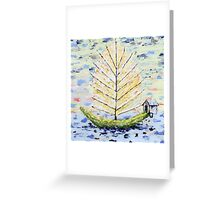 Dream Boat Greeting Card