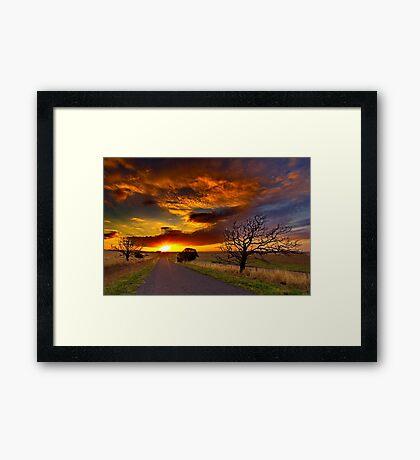 """""""Until Tomorrow"""" Framed Print"""