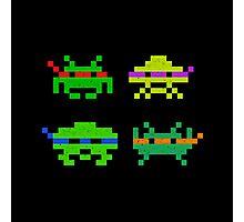 Super Space Ninja Invaders Photographic Print
