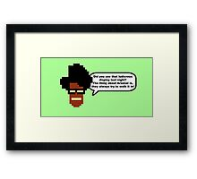 Moss: The Thing About Arsenal... Framed Print