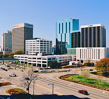Downtown Norfolk, VA Skyline by universia