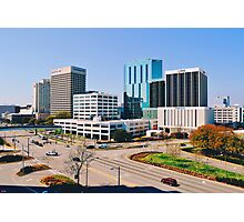 Downtown Norfolk, VA Skyline Photographic Print