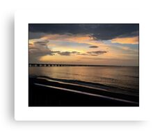 SERENITY AT THE BEACH Canvas Print