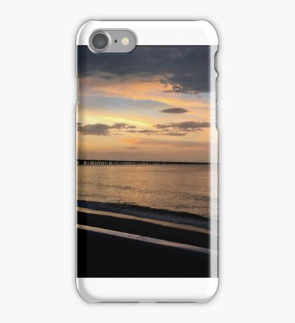 SERENITY AT THE BEACH iPhone Case/Skin