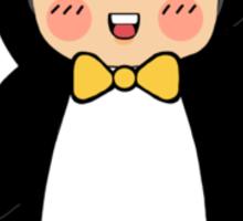 Penguin!Sid Sticker