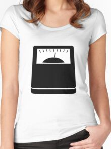 Weight Scales Women's Fitted Scoop T-Shirt