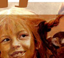 Pippi Longstocking - quote Sticker