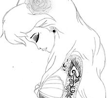 Punk Ariel Princess by selinaaanunezzz