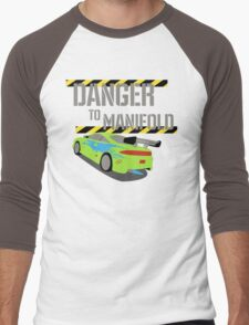 Danger To Manifold Men's Baseball ¾ T-Shirt