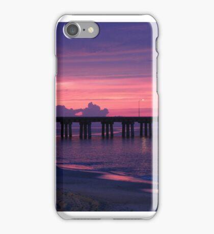 ALONE AT SUNSET iPhone Case/Skin