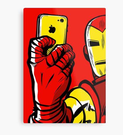 Stark #Selfie Metal Print