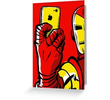 Stark #Selfie Greeting Card