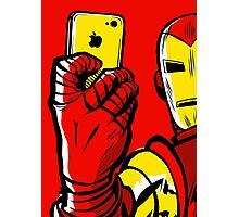 Stark #Selfie Photographic Print